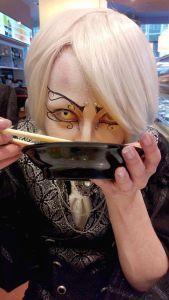 eine Miso-Suppe passt noch irgendwie rein ...
